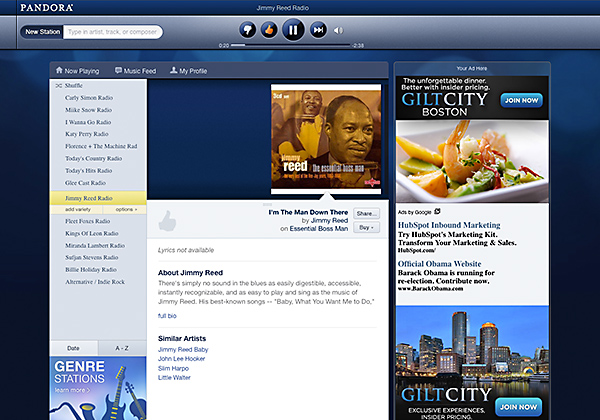 How to Open Pandora Radio Outside the US ?